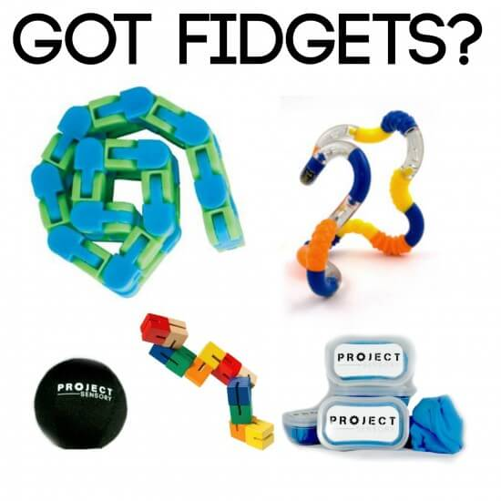 Project Sensory Fidget Toolkit.