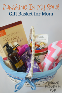 Sunshine in My Soul Gift Basket For Mom