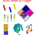 Ideas for gifts for kids who need to fidget.