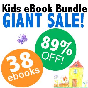 kids ebook bundle sale.