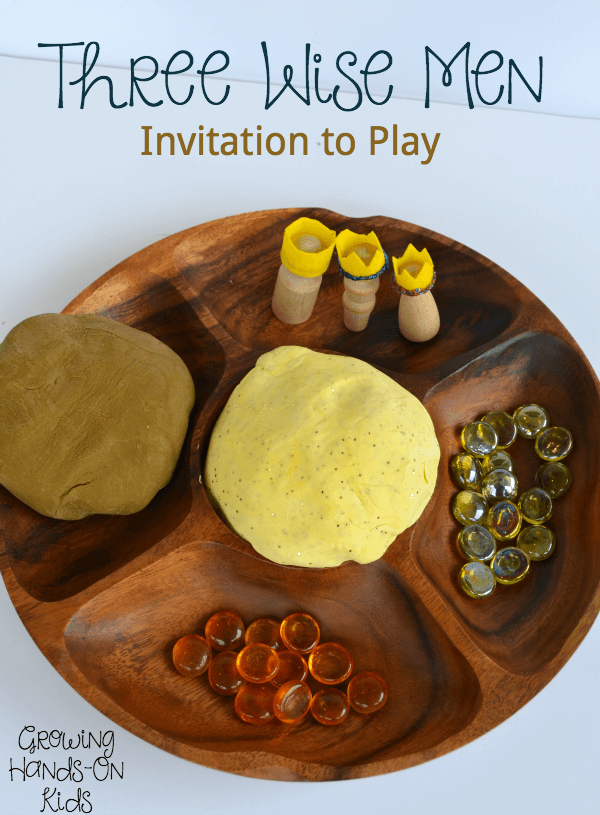 Three wise men invitation to play