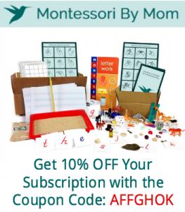 Montessori by Mom Subscription Service.