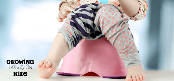 Preparing your child and environment for potty training. Tips from an Occupational Therapy and Physical Therapy blogger series.