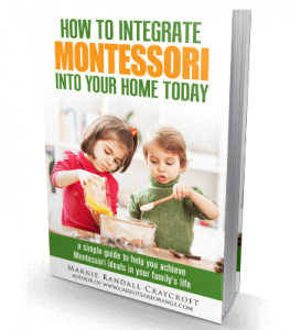 How to Integrate Montessori In Your Home Today.