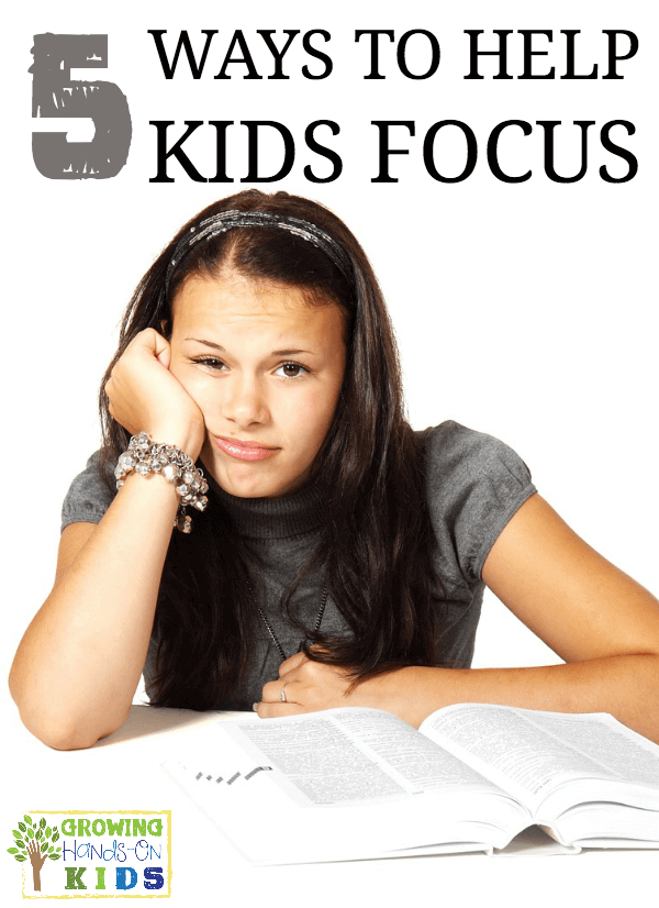 5 tips to help kids focus