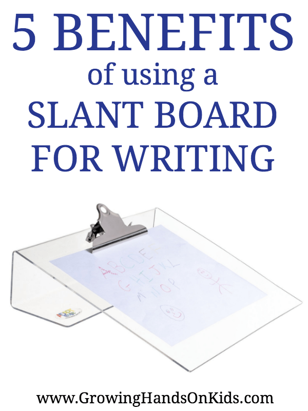 slant boards for handwriting