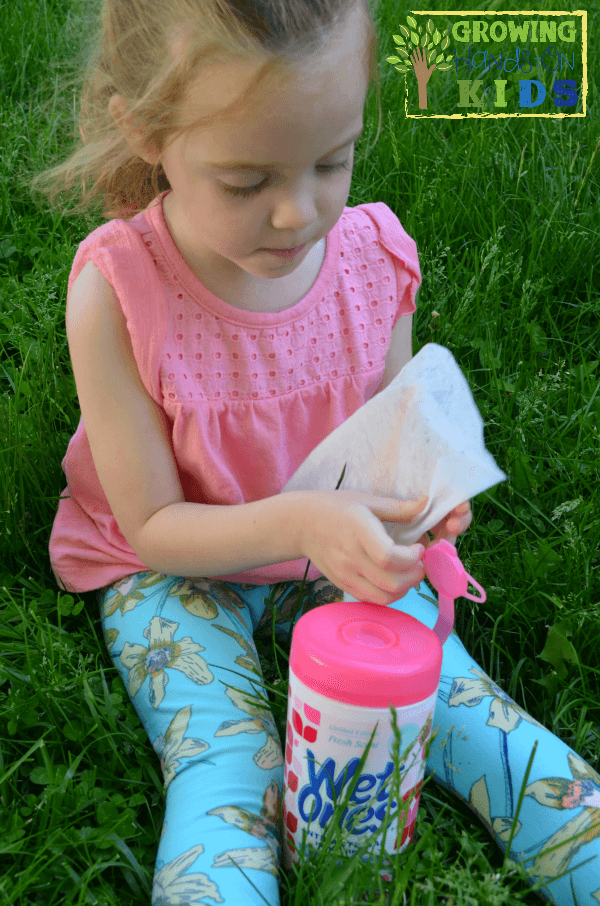 Be prepared for your summer sensory play with this bag of goodies.