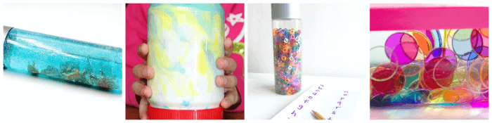 June discovery bottle ideas for kids.