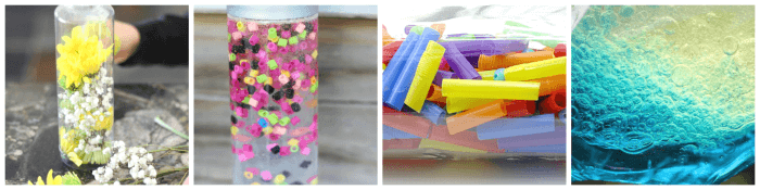 May discovery bottle ideas for kids.