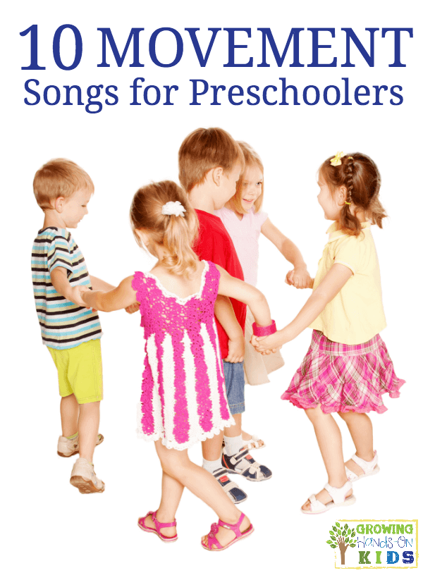 10 movement songs for preschoolers