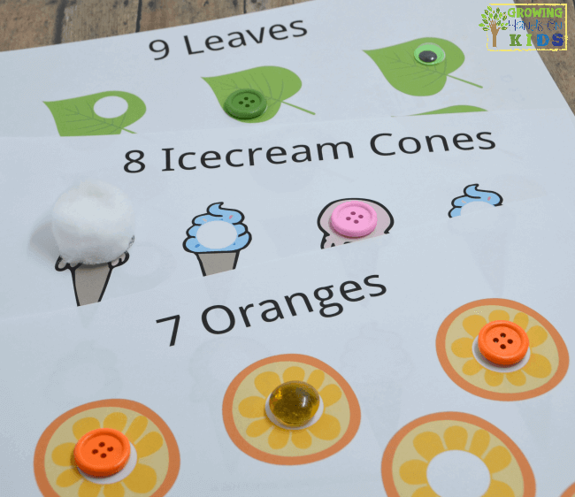 10 Hands-On Ways to use Do-A-Dot Printables