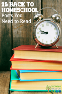 25 Back to Homeschool Posts you need to read for a successful homeschool year!