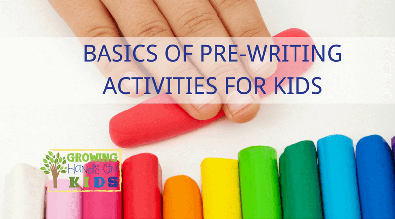 examples of pre writing activities