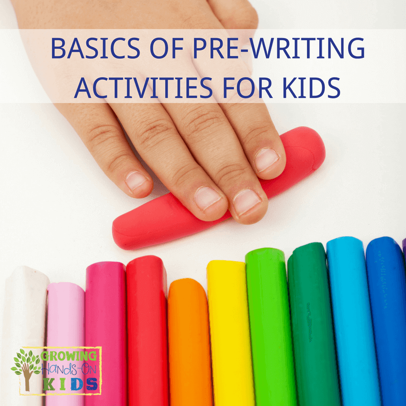 Basics of Pre-Writing Activities and Skills for Kids