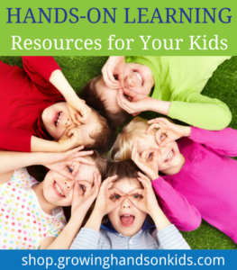 Growing Hands-On Kids Shop, Hands-on learning resources for kids.