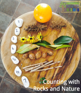 A Hands-On Way to Learn Numbers Using Rocks