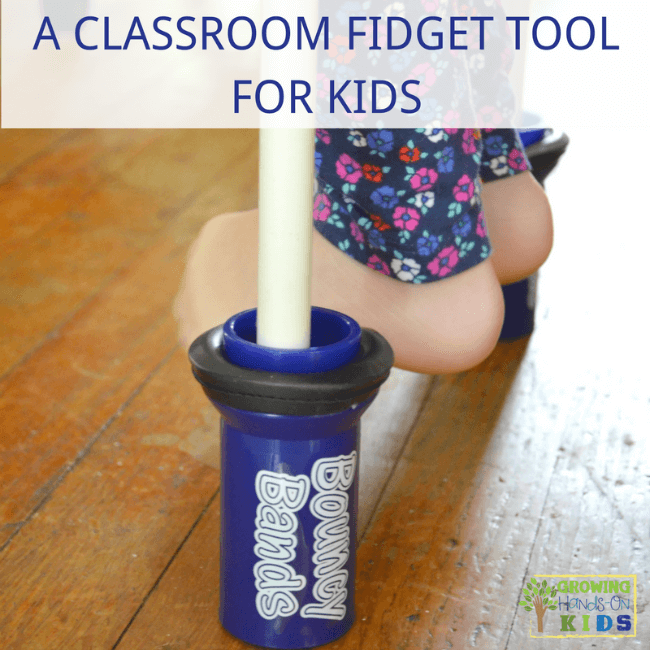 A classroom fidget tool for kids that they will love! Bouncy Bands!