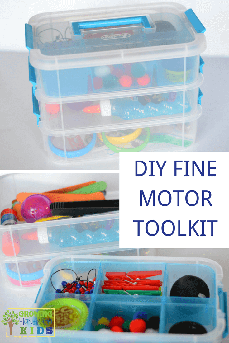 DIY Fine motor toolkit