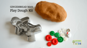 Gingerbread Man Play Dough Kit