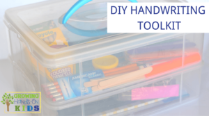 DIY Handwriting Toolkit