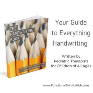 The Handwriting Book - The Ultimate Guide to Handwriting for therapists, teachers, and parents.
