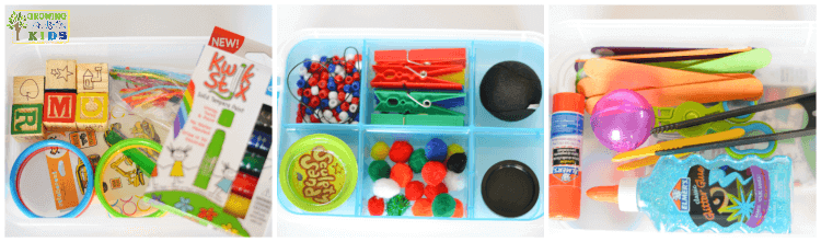 DIY Fine Motor Toolkit.