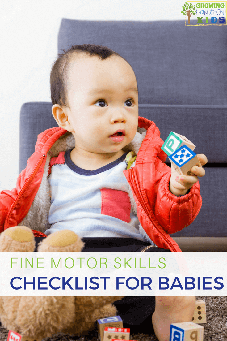 Fine Motor Skills Checklist for Babies