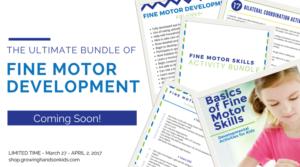 Basics of Fine Motor Skills Launch Week Bundle