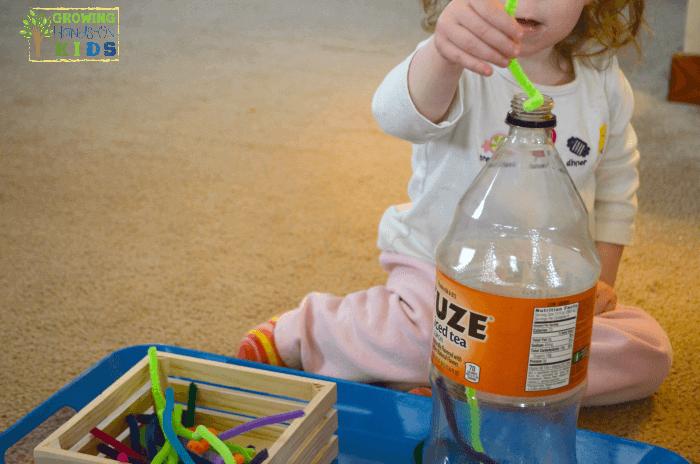 5 fun activities for pincer grasp practice with preschoolers.