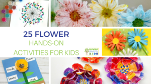 25 flower hands-on activities for kids.