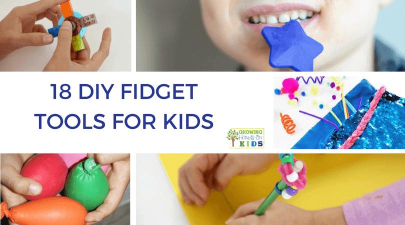 DIY Fidget Tools For Kids FB