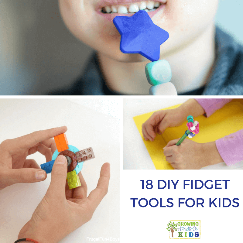 18 DIY Fidget Tools for Kids