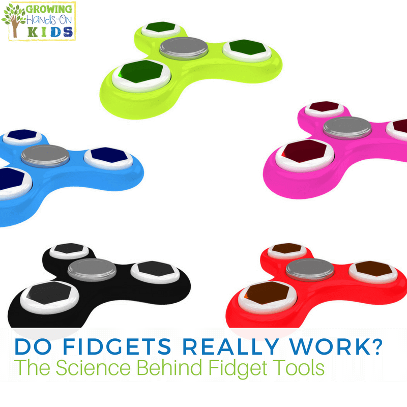 Do Fidgets REALLY work? The science behind fidget tools for kids.