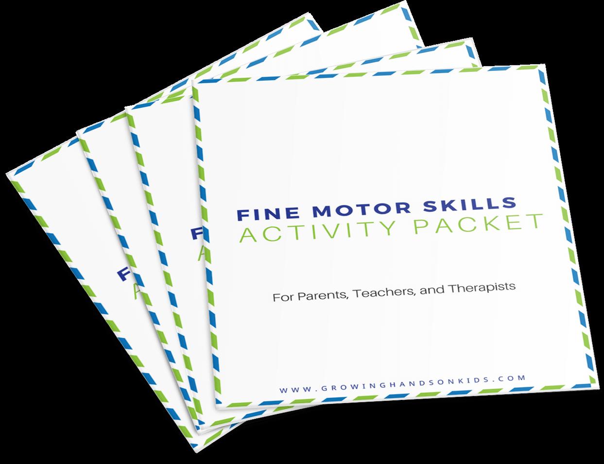 Fine Motor Skills Activity Packet