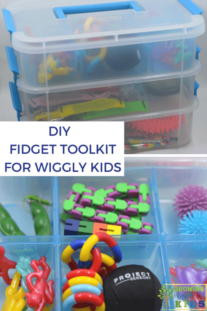 DIY Fidget Toolkit for Wiggly Kids.