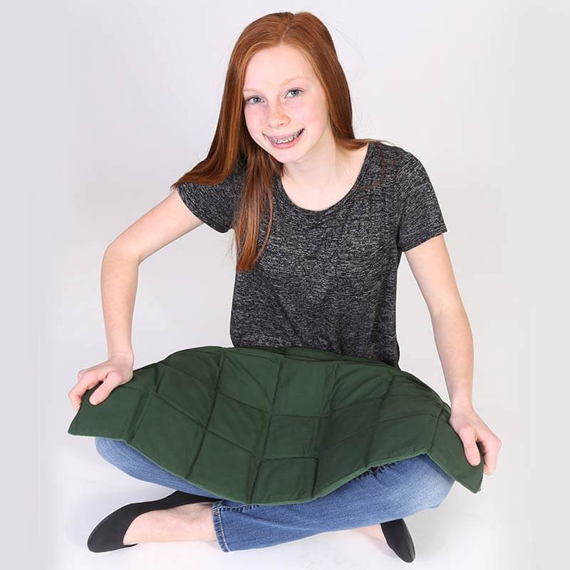 Jumbo Weighted Gel Pad from Fun and Function. Sensory Tool Gift Guide for Kids.
