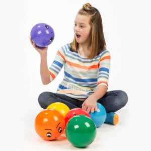 Emotions Balls from Fun and Function. Sensory Tools Gift Guide for Kids.