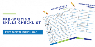 Pre-Writing Skills Checklist for Kids