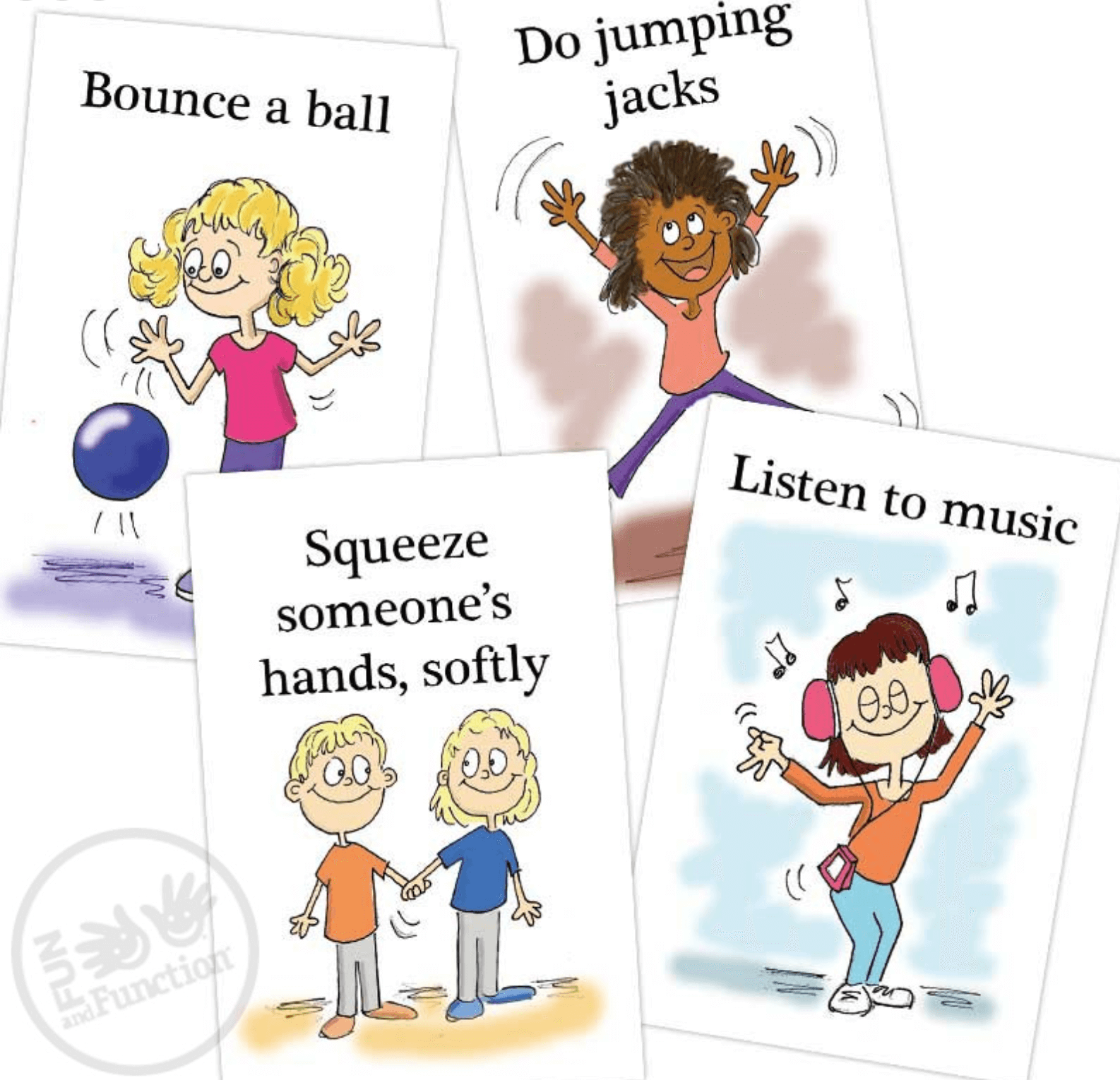 Visual Cards for Calming