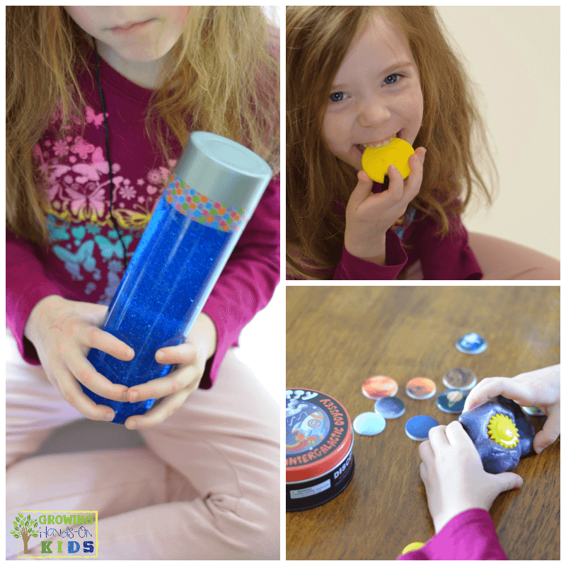 Calm down toolkit for kids. Includes my calm down station toolkit printable.