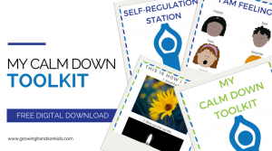 Calm Down Toolkit For Kids