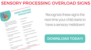 Sensory Processing Overload Signs