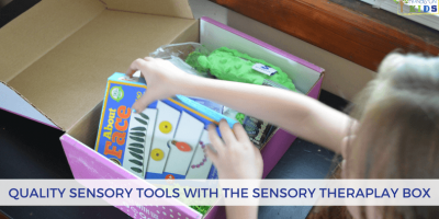 Quality Sensory Tools with the Sensory Theraplay Box Subscription Service