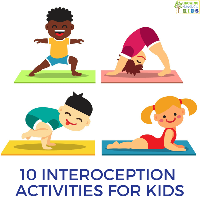 10 Interoception activities for kids. Sensory processing and interoception.
