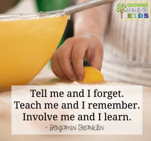 Child development quote, Benjamin Franklin.