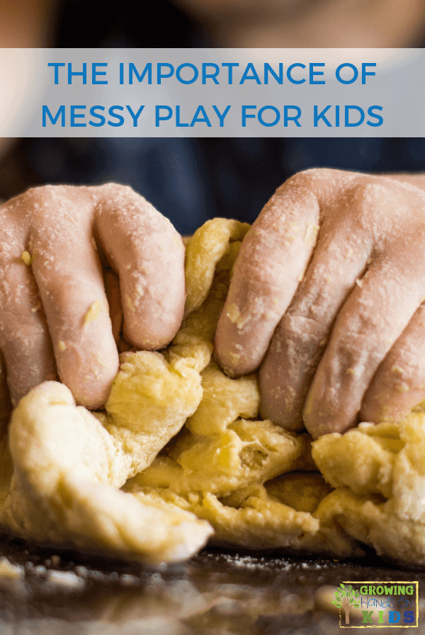The Importance of Messy Play for Kids. #MessyPlay #SensoryPlay #SensoryActivities #KidsActivities #ChildDevelopment #OccupationalTherapy #SensoryProcessing